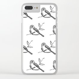 Bird on Branch Clear iPhone Case