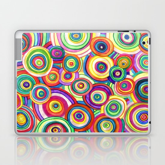 uneven universe Laptop & iPad Skin