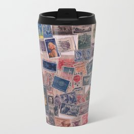 20th Century through stamps Travel Mug