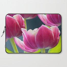 Tulip Bouquet Spring Atmosphere #decor #society6 #buyart Laptop Sleeve