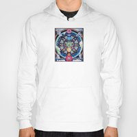 chakra Hoodies featuring Earth Chakra by The Art of Eric Carson