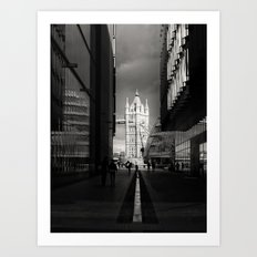 Into The Light London Art Print