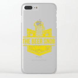 Beer Snob Best Trending Clear iPhone Case