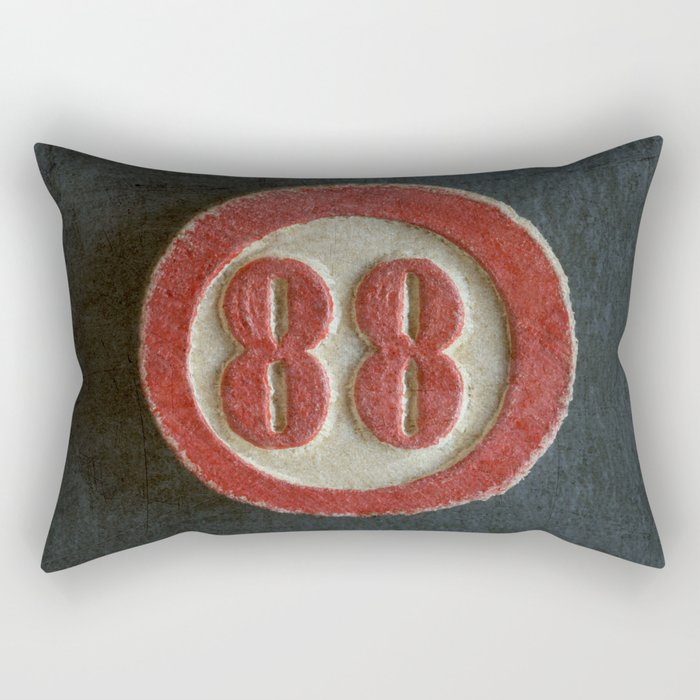 Eighty Eight Rectangular Pillow