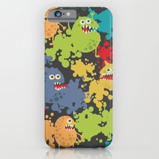 Funny microbes. Slim Case iPhone 6s