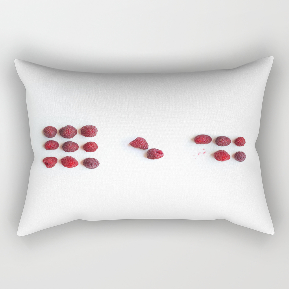 A Raspberry Day From 9 To 5 Rectangular Pillow RPW8707792