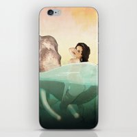 bath iPhone & iPod Skins featuring The Bath by keith p. rein