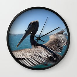 The Pelican Wall Clock