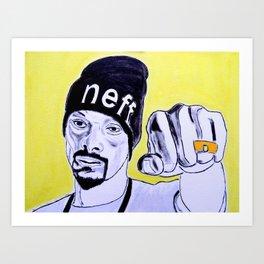 Snoop Dog Art Print