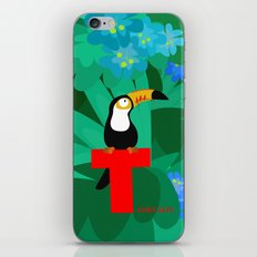 t for toucan iPhone & iPod Skin