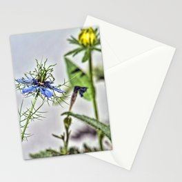 Blue Nigella Stationery Cards