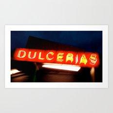 Dulcerías Art Print