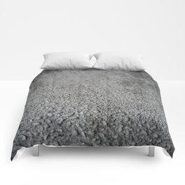 Wet concrete Comforters