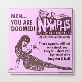 Vintage Nymphs Metal Print