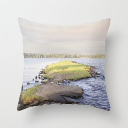 New River Throw Pillow