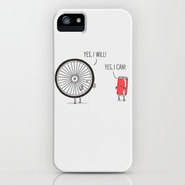I will, I can iPhone Case