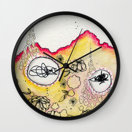 Falsehoods and Lies Wall Clock