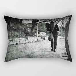 The Walk Rectangular Pillow