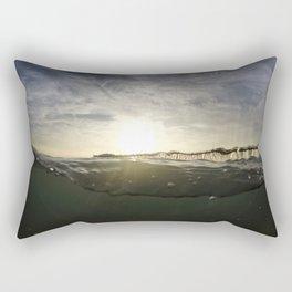Drunken Pier Rectangular Pillow