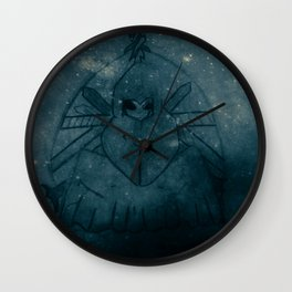 In space no-one can hear you laugh Wall Clock