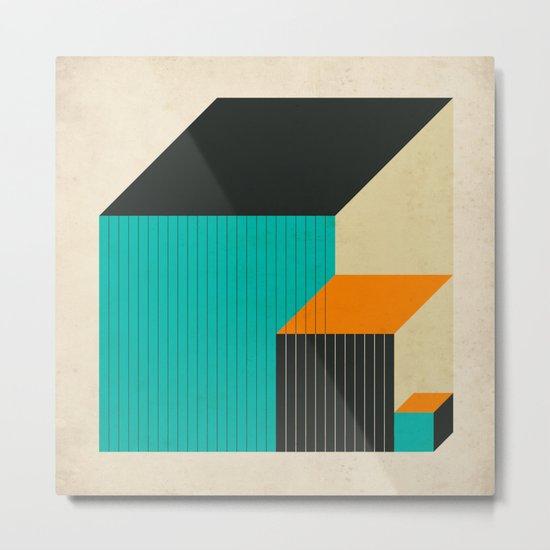 CUBES (11) Metal Print