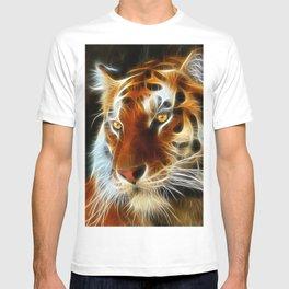 Tiger 3d artworks T-shirt