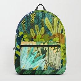 Wild Jungle || #illustration #painting Backpack