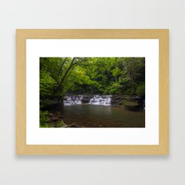 Campbell Falls Framed Art Print