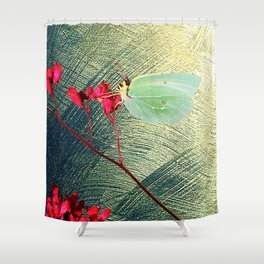 Butterfly vintage Shower Curtain