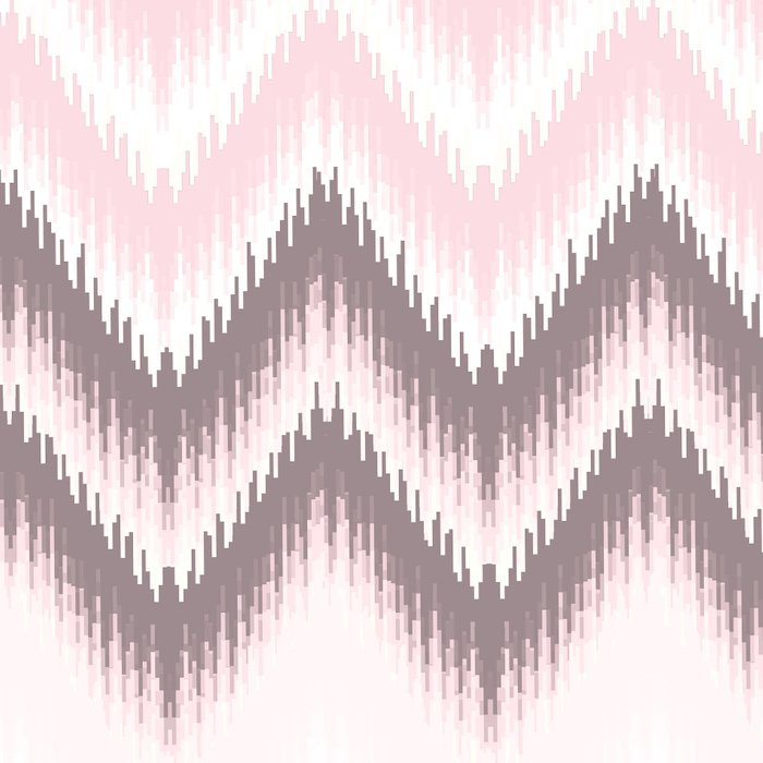 Girly blush pink pastel modern elegant ikat pattern Leggings