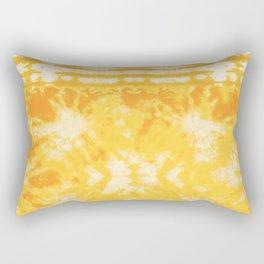 Shibori Beach Sun Rectangular Pillow
