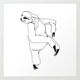 A Sloth Art Print