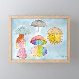 Liquid Sunshine Framed Mini Art Print