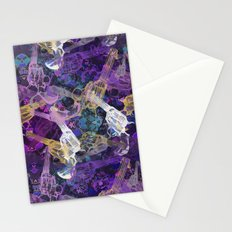 Floral Gun Stationery Cards