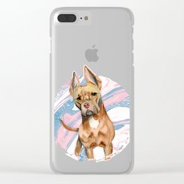 Bunny Ears Clear iPhone Case