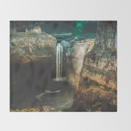 Washington Heights - nature photography Throw Blanket