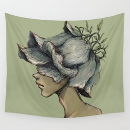 Leaf Boy Wall Tapestry