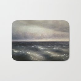 The Black Sea by Ivan Aivazovsky. Bath Mat