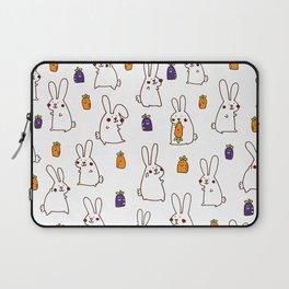 Rabbit on field Laptop Sleeve