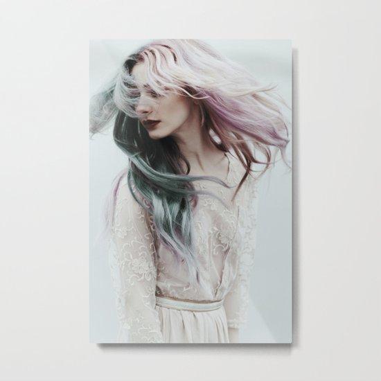 Pink wind Metal Print
