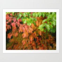 Fall Foliage by MRT Art Print