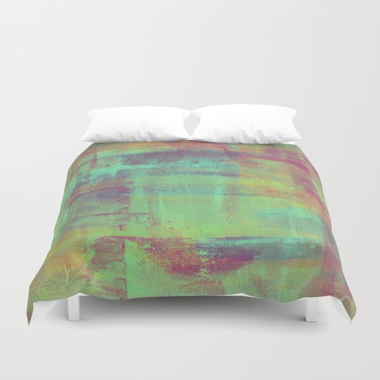 Humility - Mixed Colour Abstract Duvet Cover