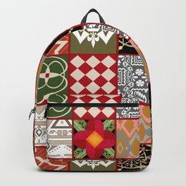 National ethnic patchwork . Backpack