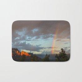 Sedona Rainbow Bath Mat