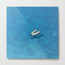 Pool Toki Metal Print