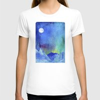 northern lights T-shirts featuring Northern Lights by Ricardo Moody