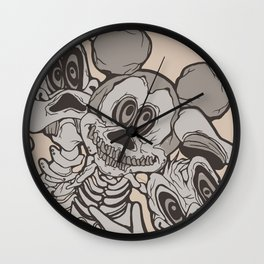 The Ojeros Invade the Magik Kingdom Wall Clock