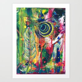 In2Minds by Toni Wright Art Print