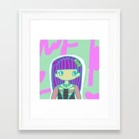 jojo Framed Art Prints featuring Jojo by Glopesfirestar