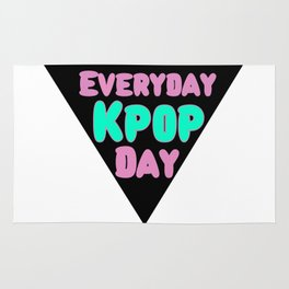 Everyday Kpop Day Rug